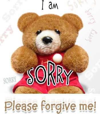 Please forgive me!