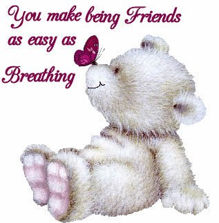 You Make Being Friends as easy as Breathing
